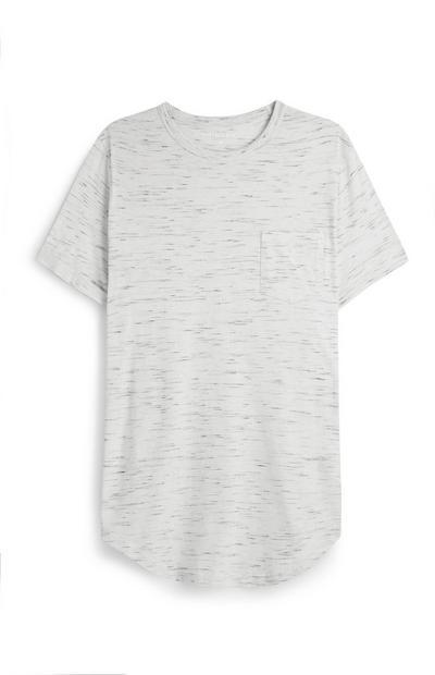 Bež daljša majica