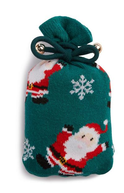Weihnachtsmann-Socken