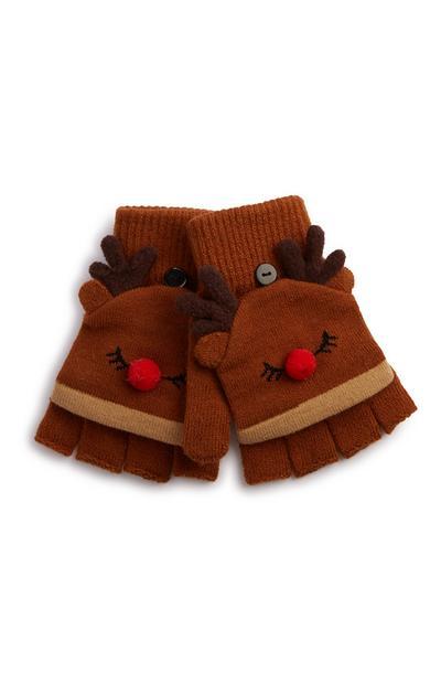 Handschoenen in rendiervorm
