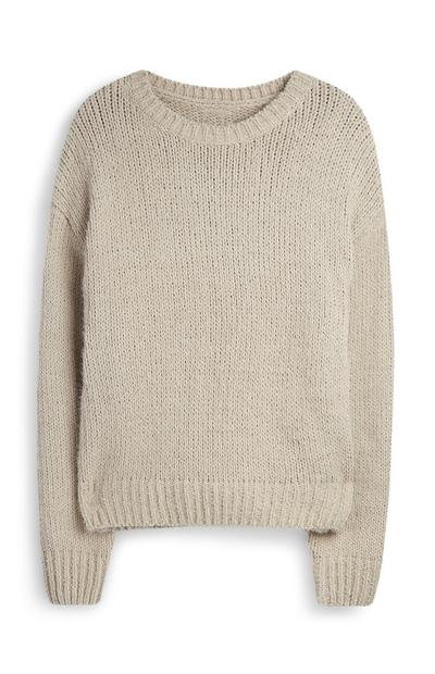 Sivorjav pulover iz šenilje