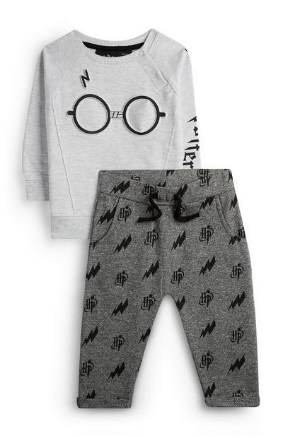 Camisola/calças treino Harry Potter menino bebé