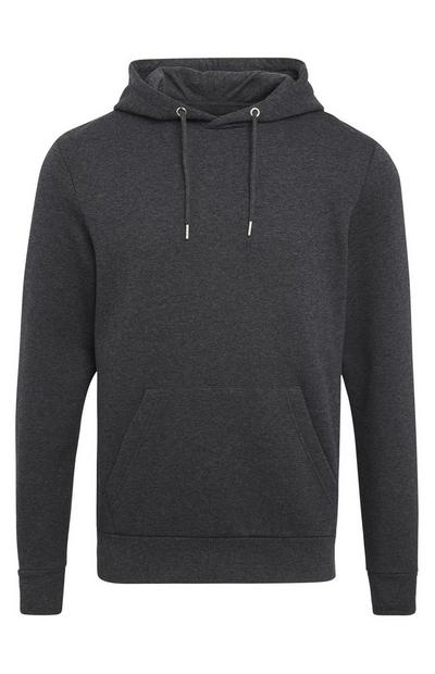Charcoal Gray Pullover Hoodie