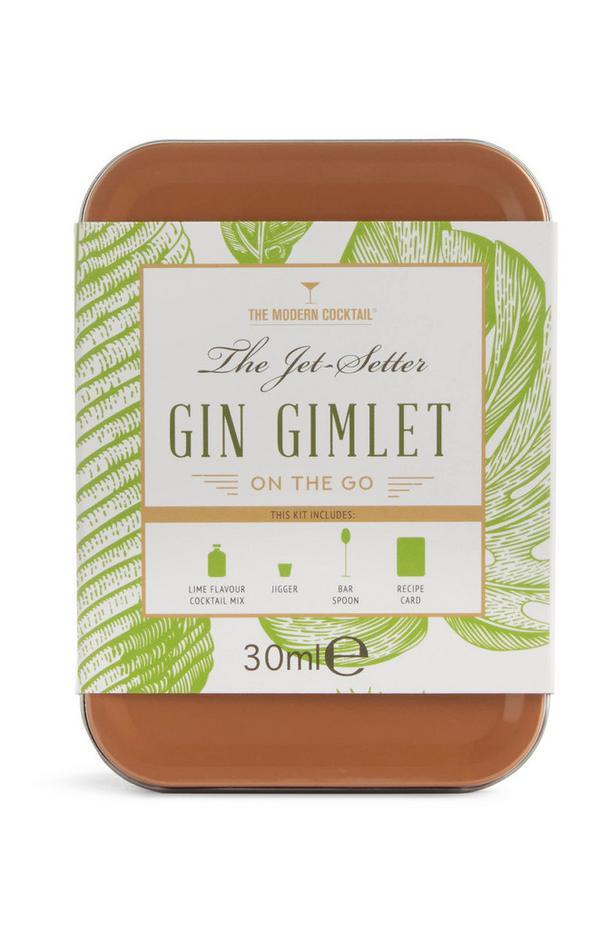 Coffret pour cocktail à base de Gin