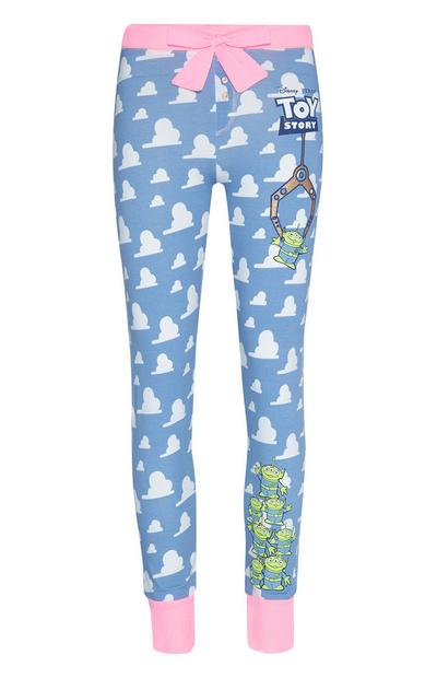 Joggers blu con stampa nuvole Toy Story