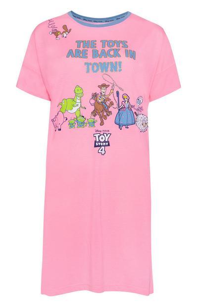 Camicia da notte rosa Toy Story