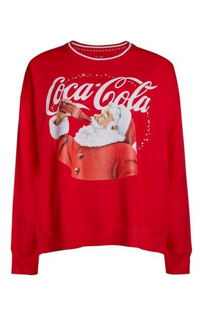 Coca Cola Santa Christmas Jumper