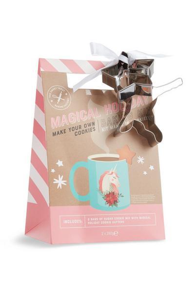 Kit de galletas de unicornio