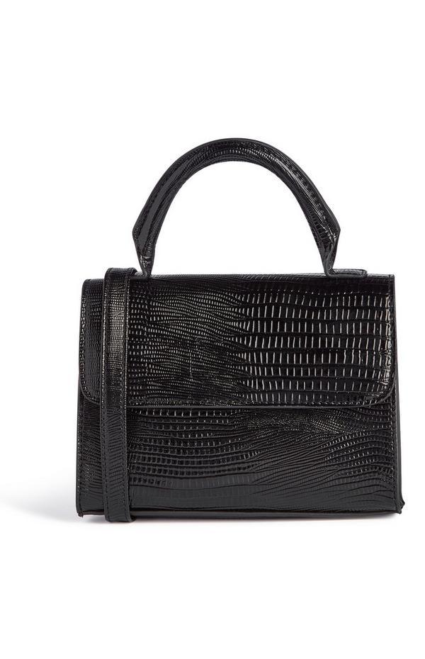 Schwarze Schlangen Tasche Tasche Schwarze In OptikUmhängetaschenamp; 8n0wmONv