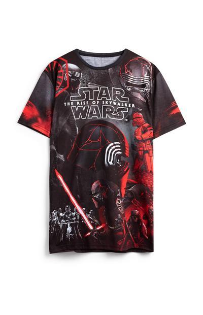 Camiseta negra de Star Wars «The Rise Of Skywalker»