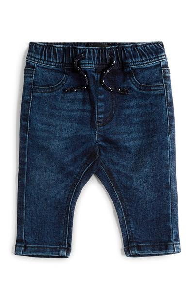 Baby Boy Pull On Indigo Jeans