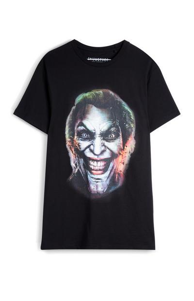 Joker t-shirt, zwart
