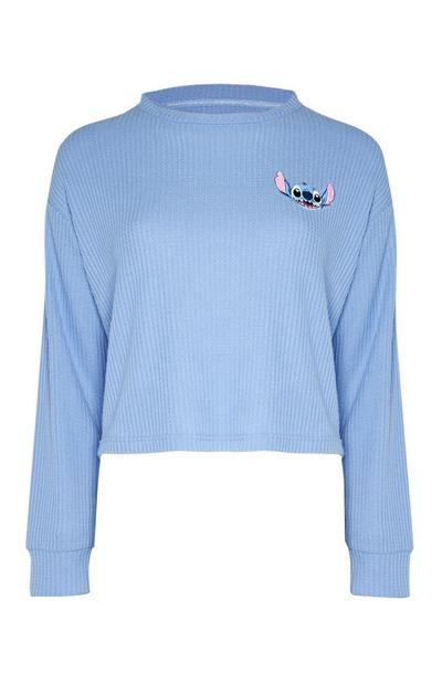 Blue Lilo And Stitch Long Sleeve Top