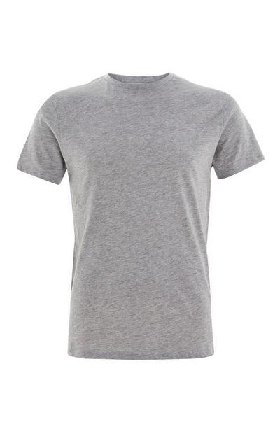 T-shirt gris ras-du-cou