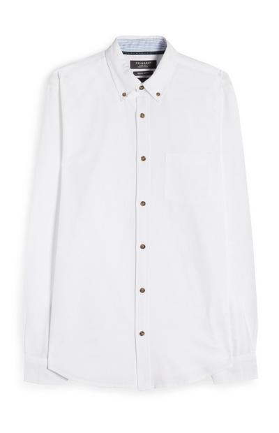 Weißes Premium Oxford-Hemd
