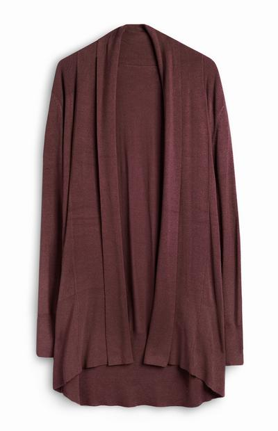 Udobna vinsko rdeča jopica