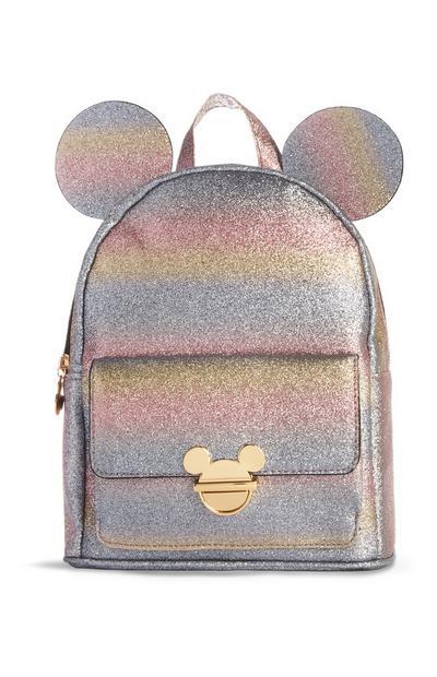 Mochila Mickey Mouse brilhantes