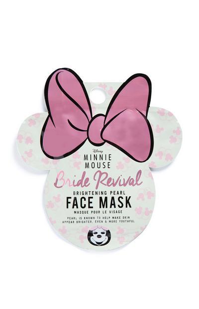 Máscara facial brilho Minnie Mouse