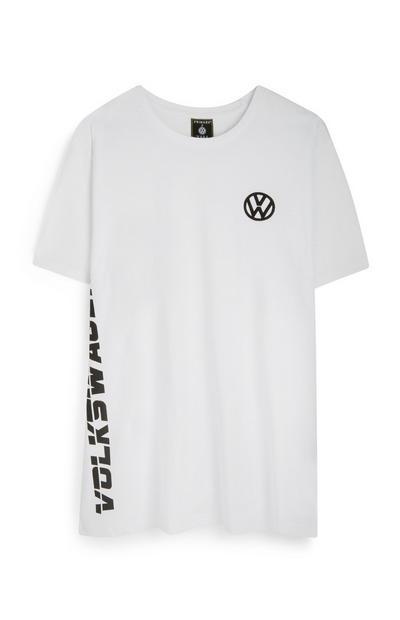 Wit T-shirt met Volkswagen-logo