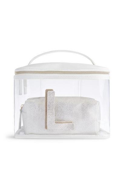 Letter L Clear Makeup Bag