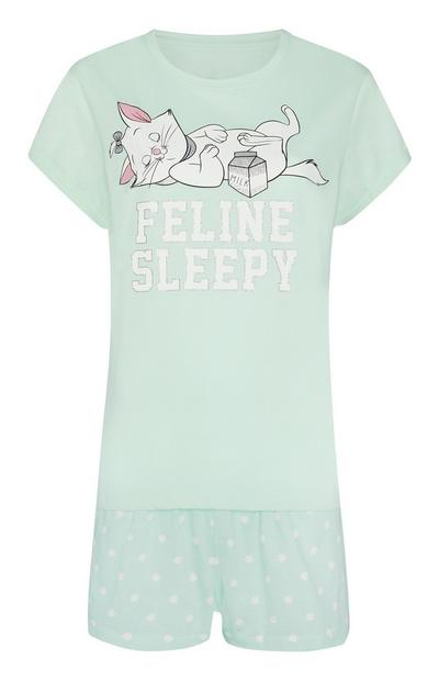 Mint Aristocats Marie Pajama Set