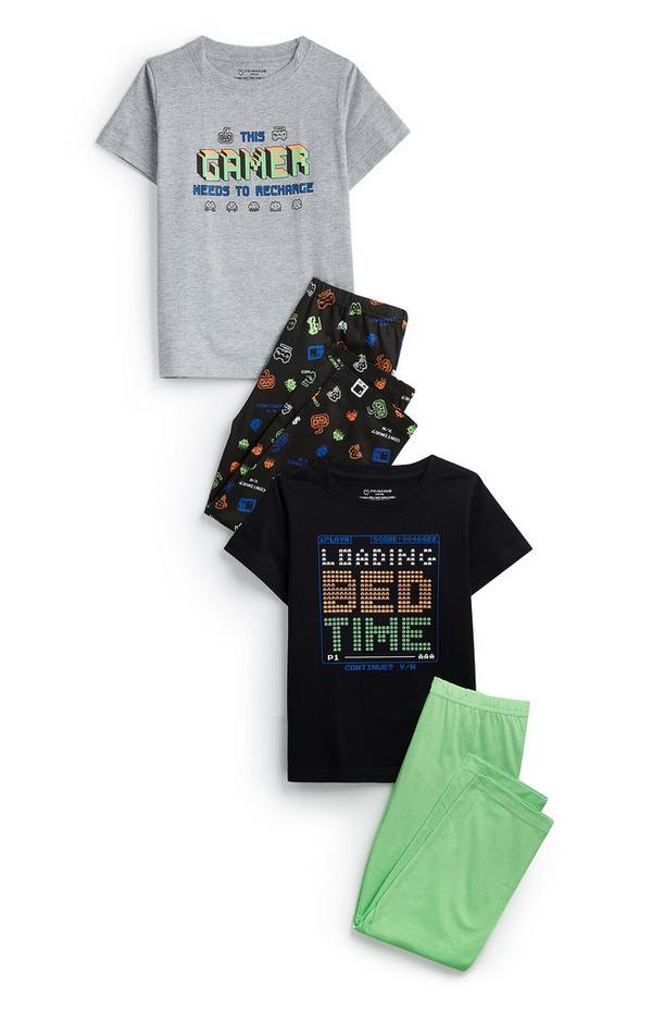 """""""Gamer"""" Pyjamaset (Teeny Boys), 2er-Pack"""