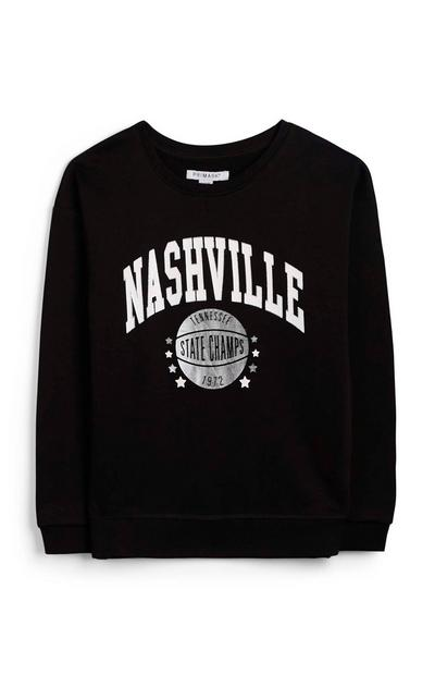 Older Girl Nashville Crew Neck Sweatshirt