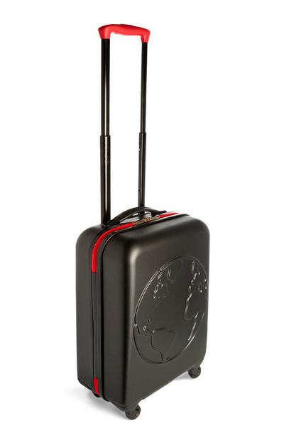 Black Hard Shell Large Suitcase