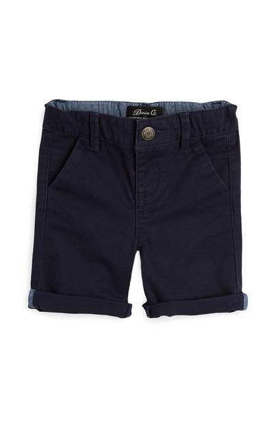 Baby Boy Navy Chino Shorts