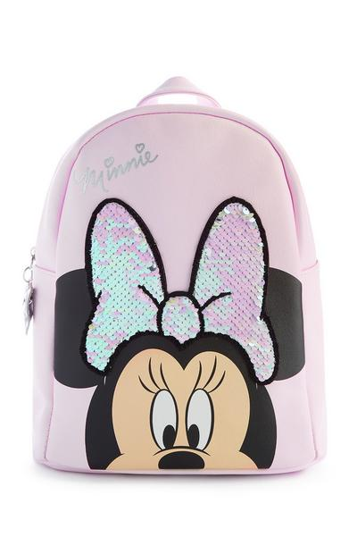 Sac à dos rose Minnie Mouse