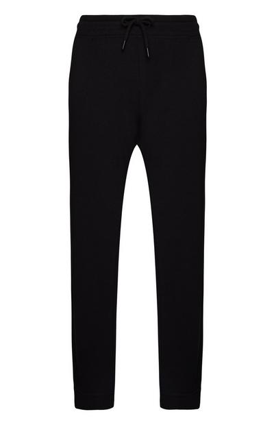 Zwarte joggingbroek, regular fit