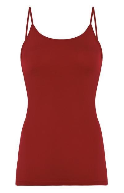 Red Stretch Cami