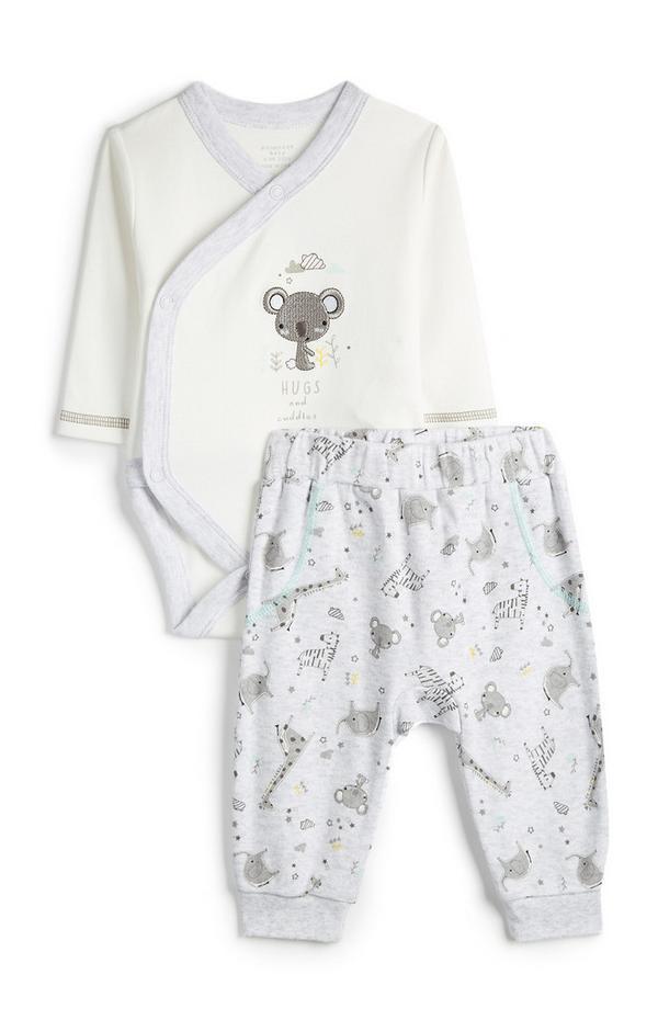 Newborn Baby Koala Print Set