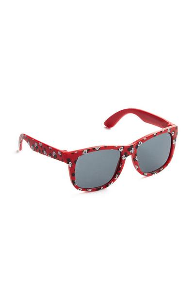 """Micky Maus"" Sonnenbrille in Rot"
