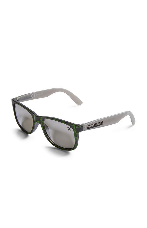 Grey Minecraft Sunglasses