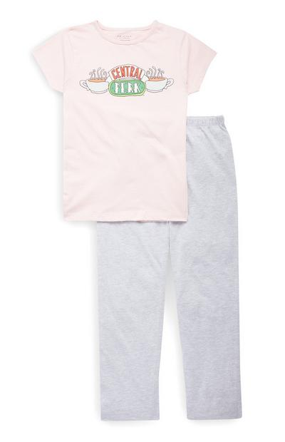 Conjunto de pijama de Friends para niña mayor