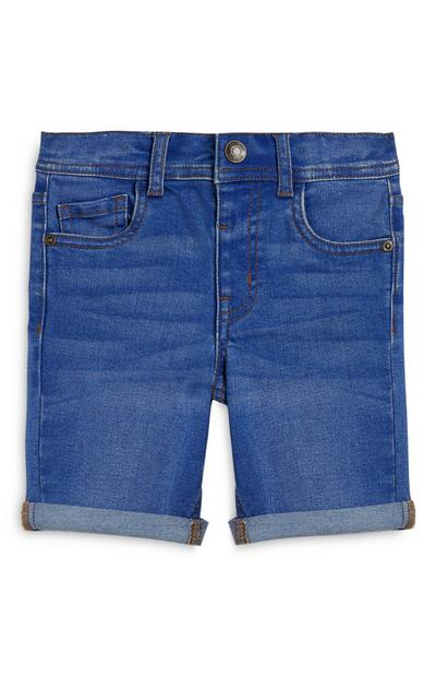 Younger Boy Skinny Denim Shorts