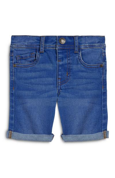 Older Boy Skinny Denim Shorts