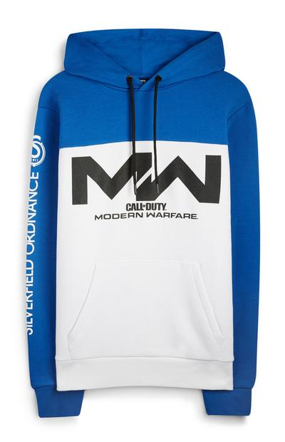 Blue Call Of Duty Modern Warfare Hoodie