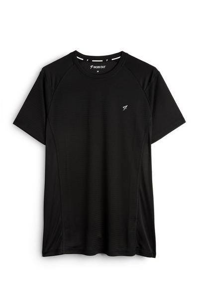 Zwart trainingsshirt