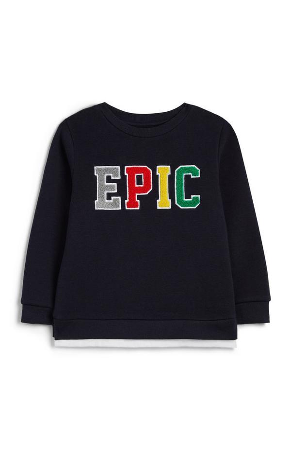 """Marineblauer """"Epic"""" Pullover für Babys (J)"""