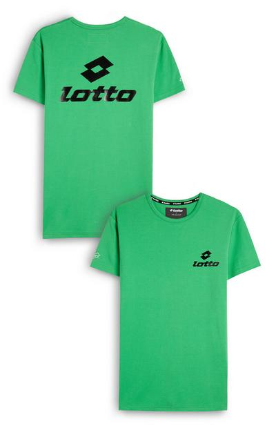 T-shirt verde Lotto