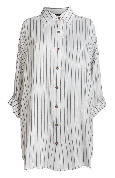 Črtasta bela srajca