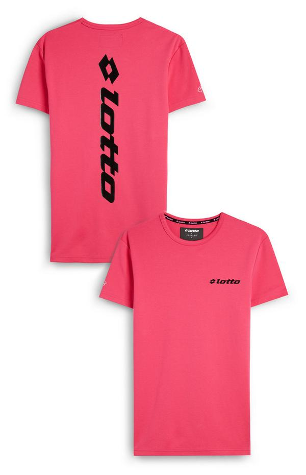 Pink Lotto Logo T-Shirt