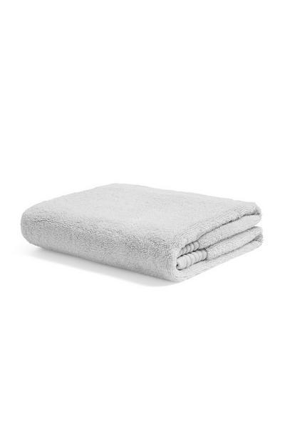 Serviette essuie-mains gris clair de luxe