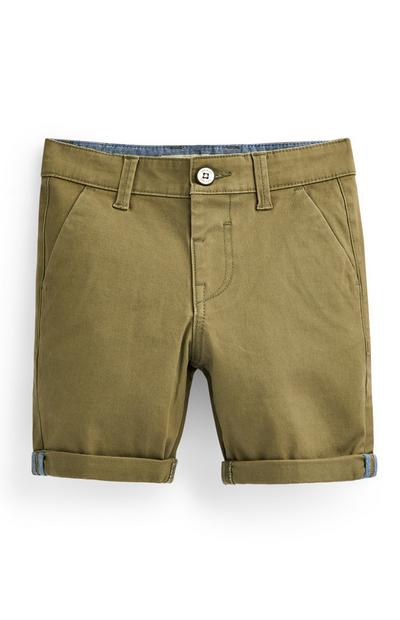 Younger Boy Khaki Chino Shorts
