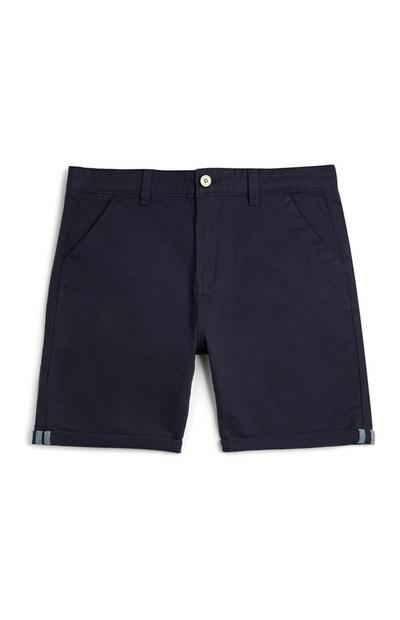Younger Boy Navy Chino Shorts