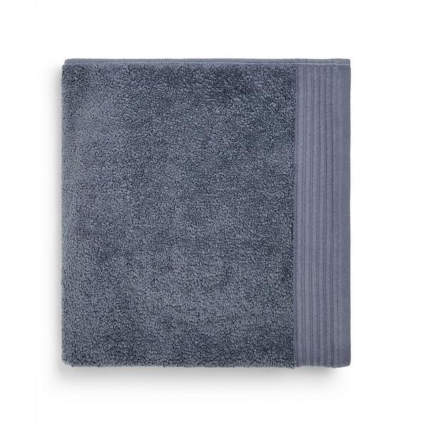 Toalha banho cinzento-escuro