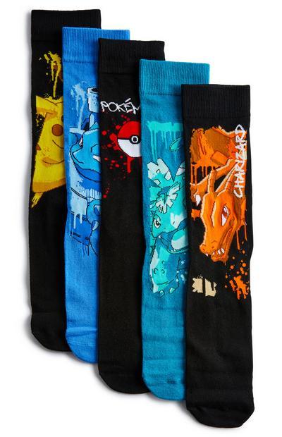 Multipack sokken Pokemon