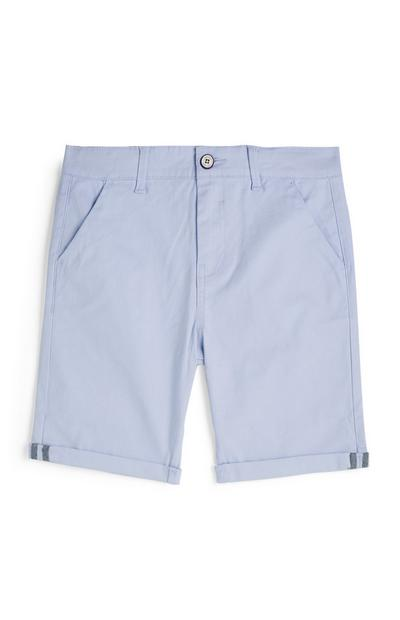 Older Boy Blue Chino Shorts