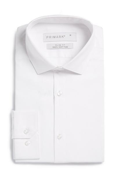 Camicia bianca strutturata Premium
